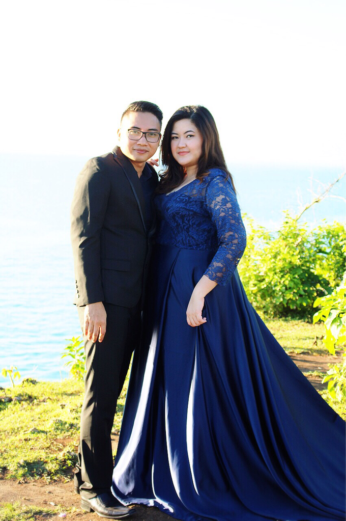 PLUS SIZE DRESS FOR PRE WED PHOTOSHOOT (A&I) by TS BRIDAL BALI - 005