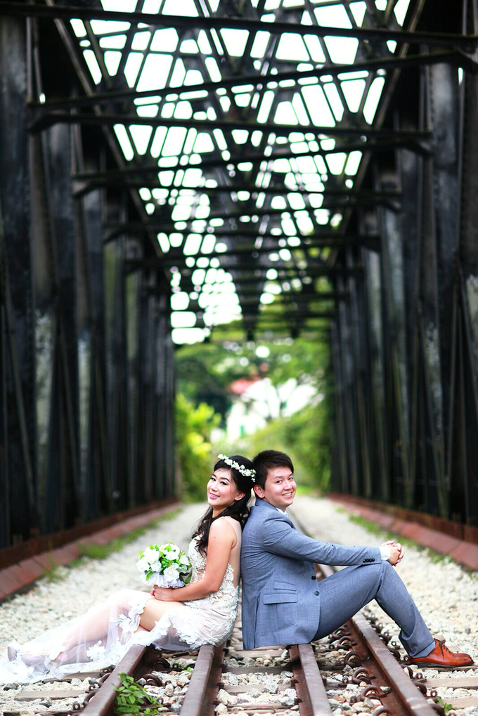 Fendi & Shella Pre- Wedding Shoot by YRegina Makeup - 004