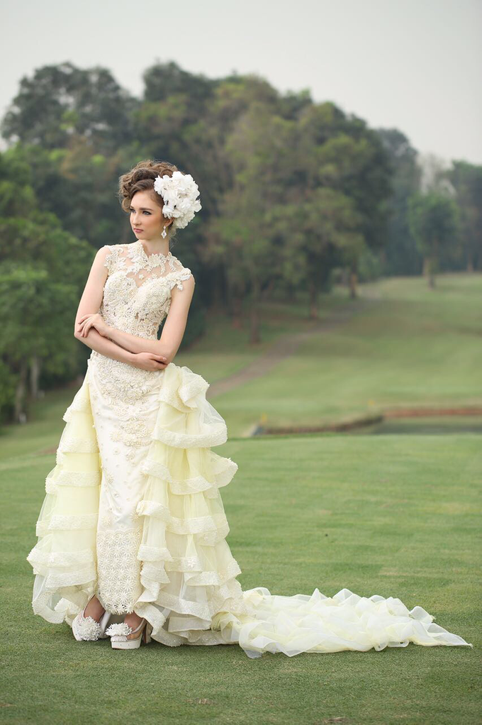 Wedding Gowns by Berkat Kebaya By Devina Shanti - 009