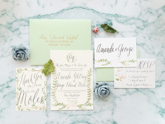 Botanical Suite by Meilifluous Calligraphy & Design - 007