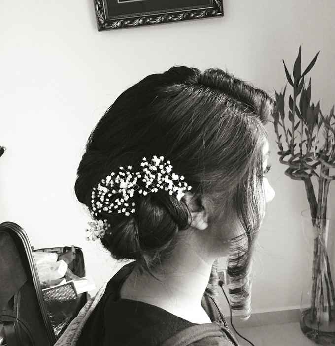Wedding Hairdo and Functions Makeup  by Lin Elier NaturalBeauty - 001