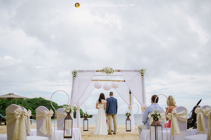 ILZE & MARTINS Wedding by Courtyard by Marriott Bali Nusa Dua - 024
