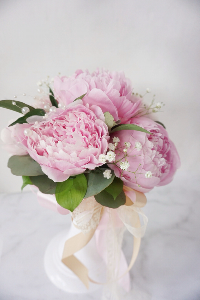 The blush of peonies  by Royal Petals - 004