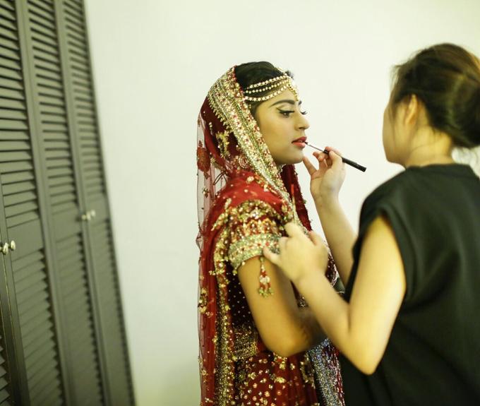 Bee Meera's Wedding by YRegina Makeup - 001