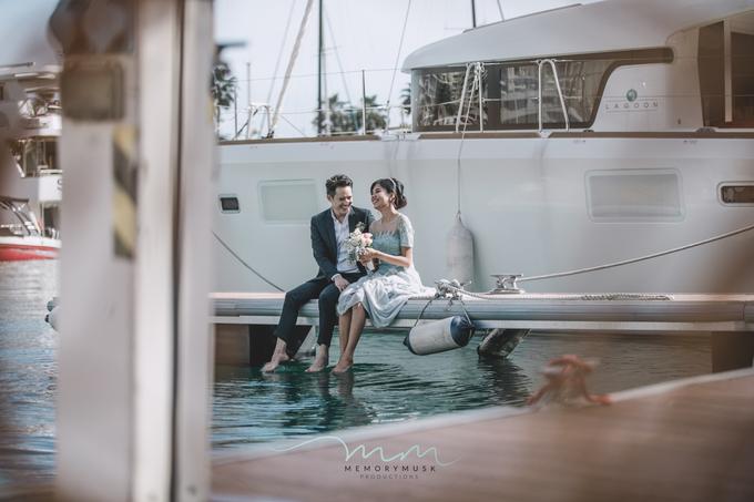Yacht Pre Wedding by memorymusk - 003