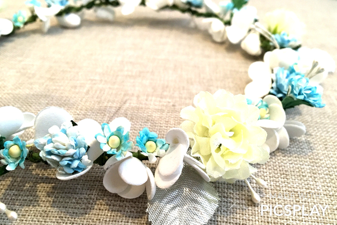 Flower Crown - Import Flowers  by Wedding Needs - 001