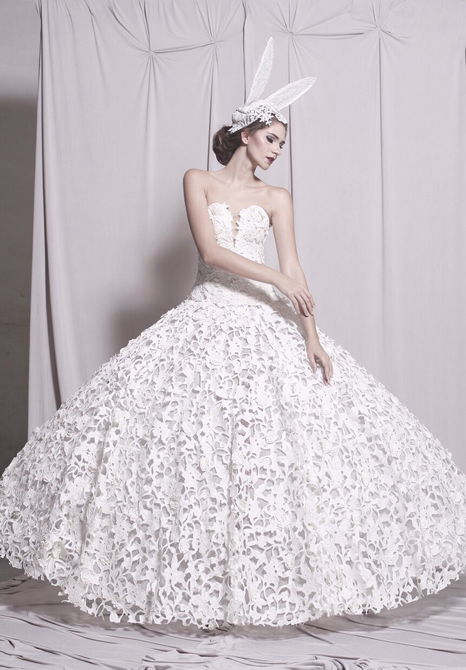 Couture Wedding Dress  by Crystal Clarissa - 005