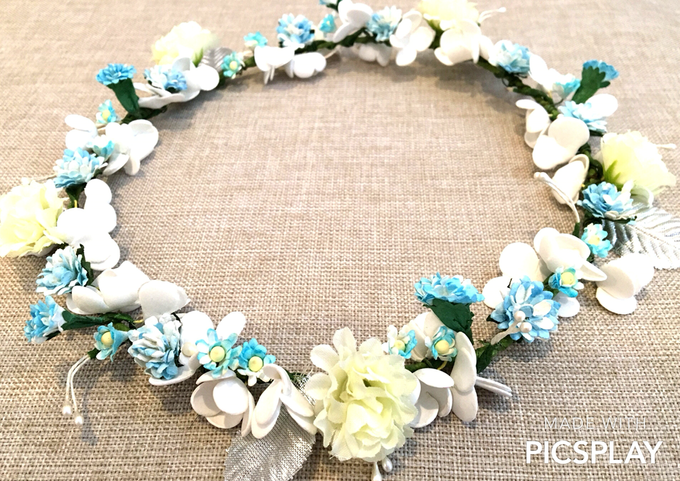 Flower Crown - Import Flowers  by Wedding Needs - 002