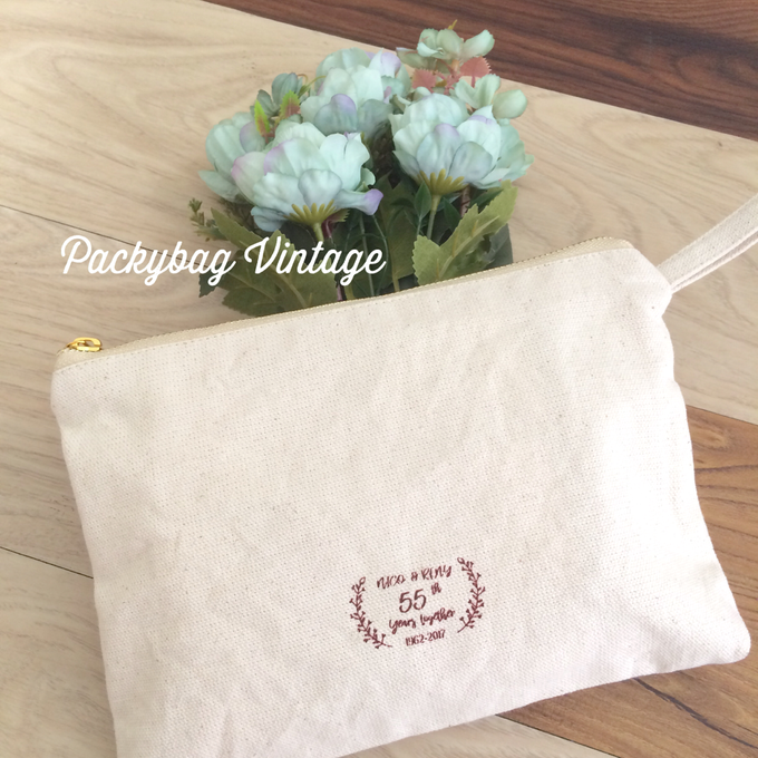 Anniversary wedding Favor  by Packy Bag Vintage - 003