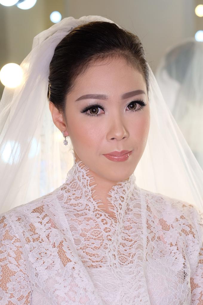 Ria wedding makeup by Amanda Makeup Artist - 012