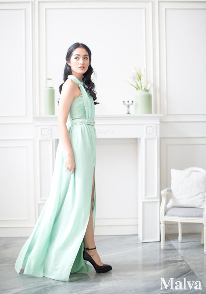 Shell Dress by MALVA Bridesmaids - 005