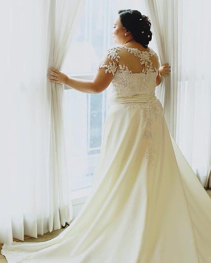 PLUS SIZE WEDDING DRESS by TS BRIDAL BALI - 008