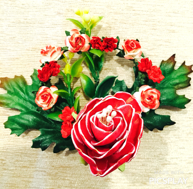 Handmade Flower Corsage by Wedding Needs - 005
