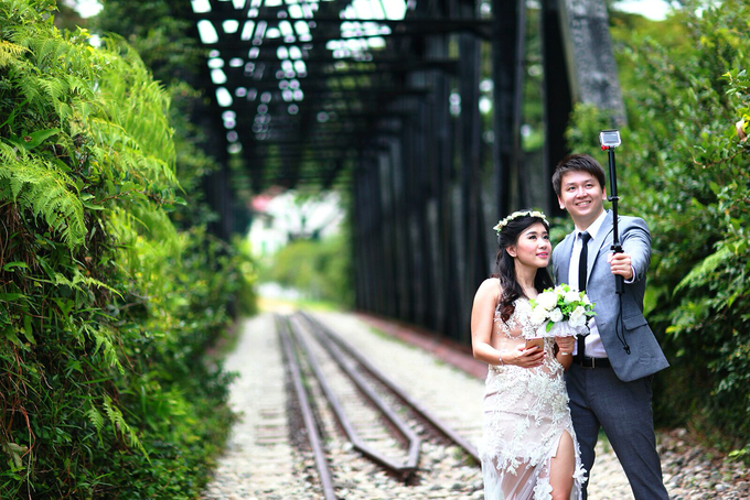 Fendi & Shella Pre- Wedding Shoot by YRegina Makeup - 003