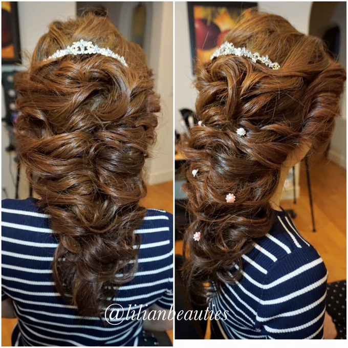 Bridal makeup and hair  by Lilianbeauty - 031