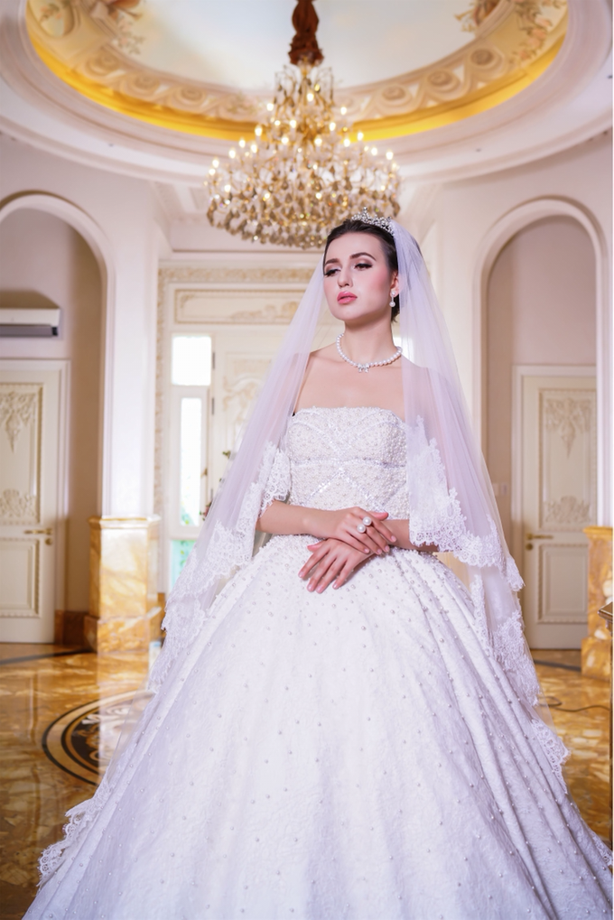 Wedding Gown by Jeffry Sui Couture - 001