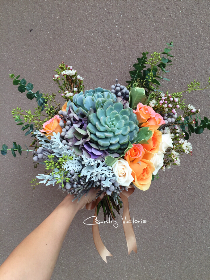 Bridal Bouquets by Country Victoria - 027
