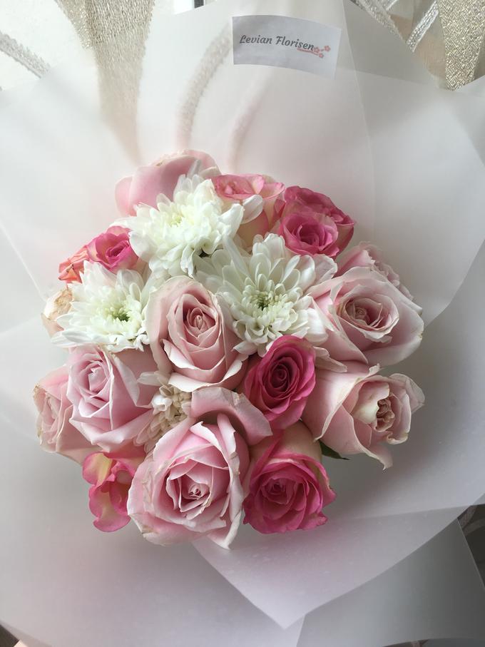 Pink Velvet Bouquet  by Levian Florisen - 008