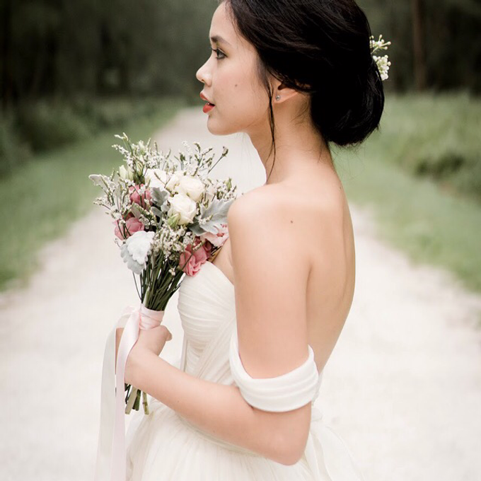 Bohemian Wedding by Liz Florals - 002