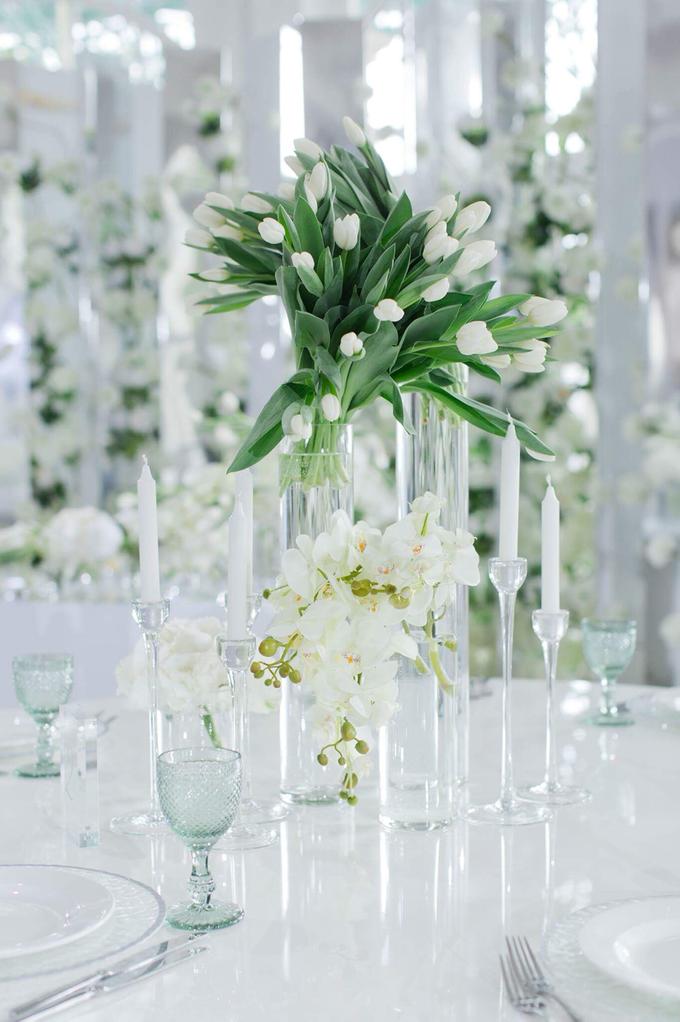 Minimalist wedding in June by Maria German decor - 010