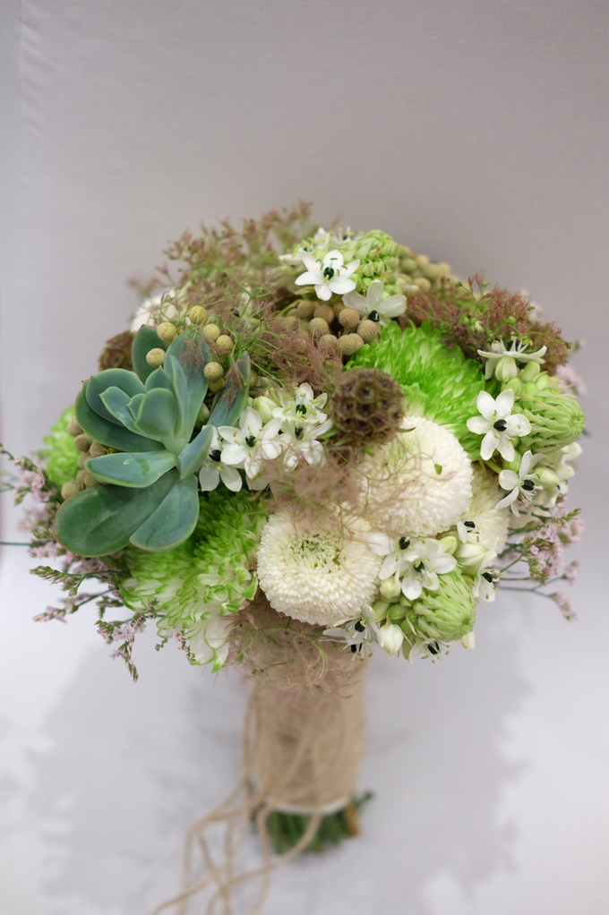 Prima & Luke Holy Matrimony by La Bloom Florist - 013