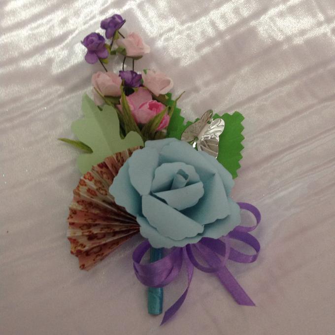Pastel Handcrafted Entourage Bouquets by Duane's Fleur Creatif - 029