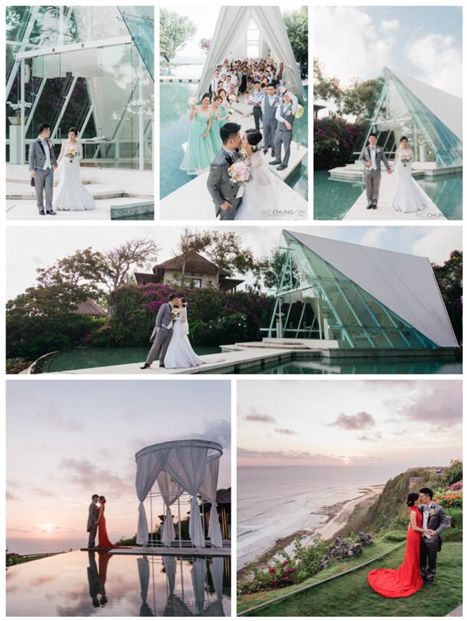 Bali wedding day by Nic Chung Photography - 001