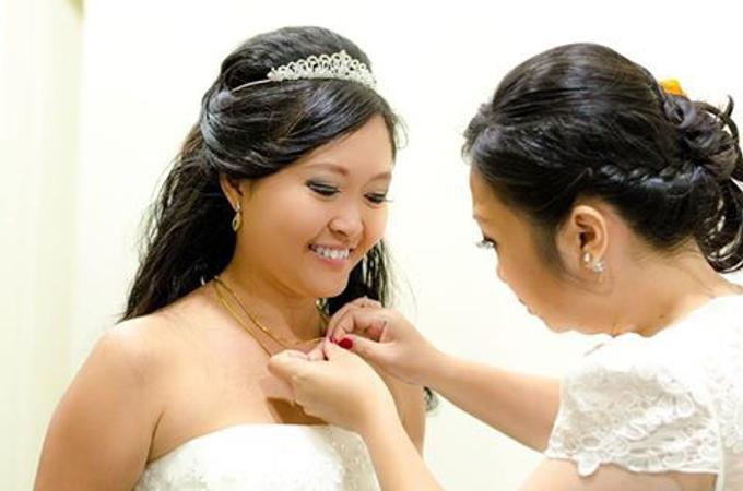 Wedding | Yosephine & Robert by Felicia Sarwono Makeup Art - 006