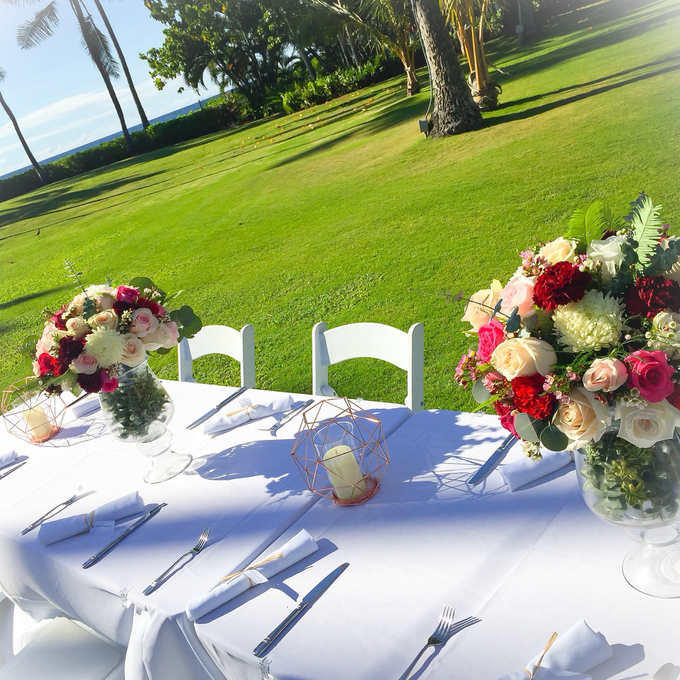 Wedding Floral Design by Bella Amour Events Hawaii - 005