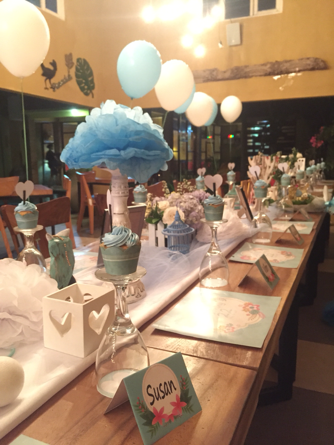 Long table decoration sample by Peony Garden Bali - 003