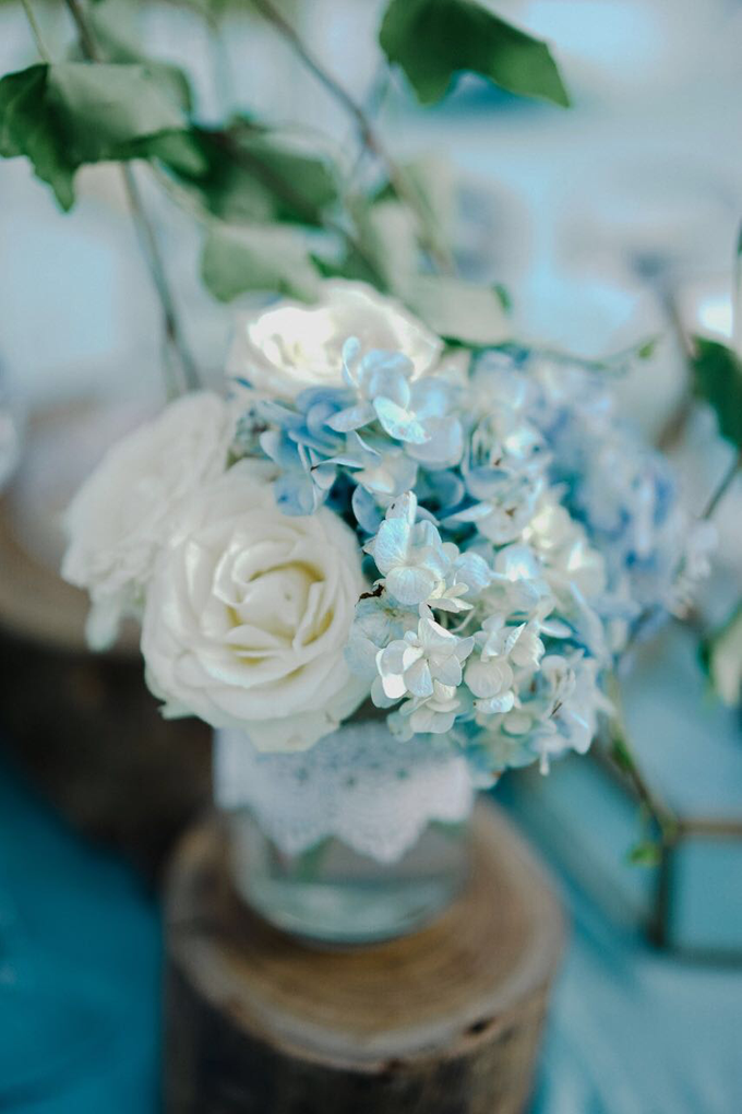 Dusty blue in romantic rustic by Bali Signature - 012