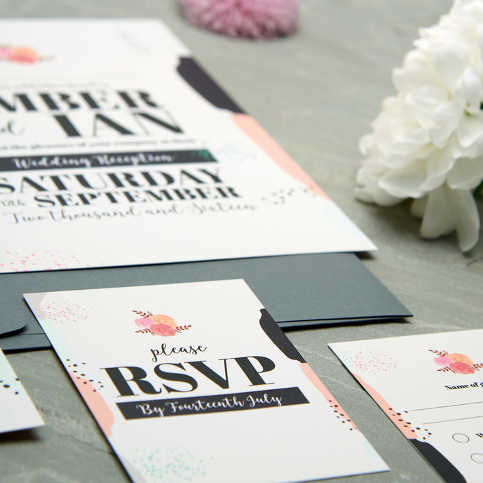 Spring template design by Vicky Perry Wedding Stationery - 006