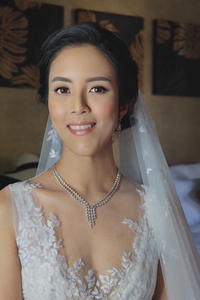 Wedding of Ms. Suphanee Ong by Fikri Halim Makeup Artist - 002