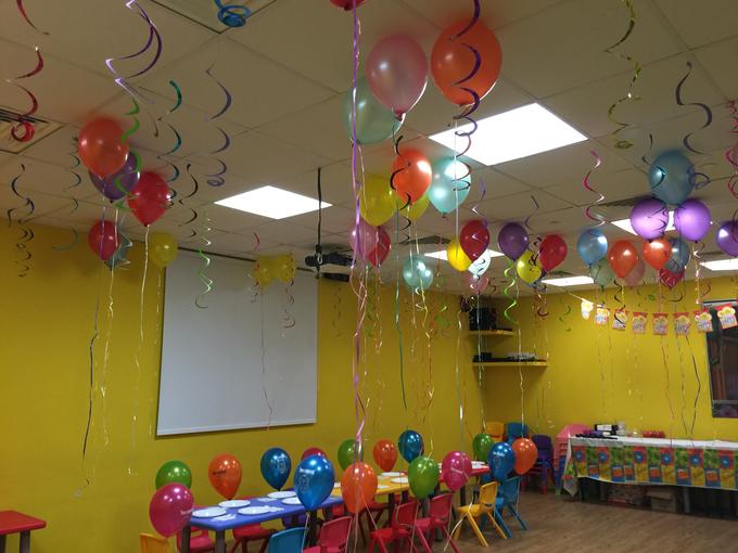 Rainbow balloons by ilmare Wedding - 003