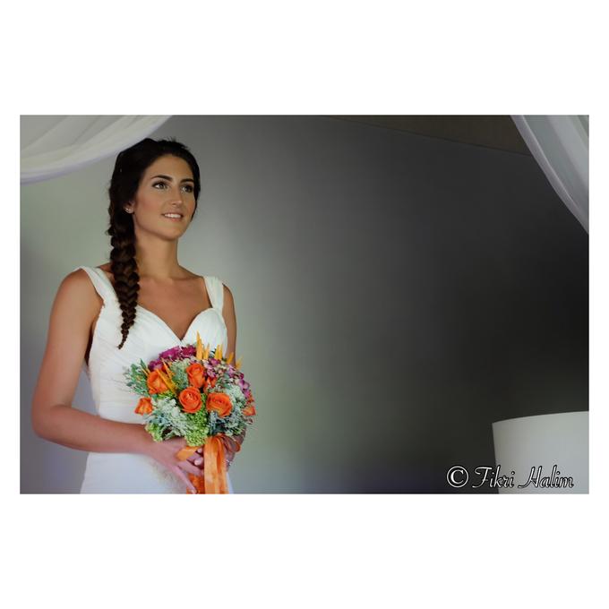 Clea and Augustine Wedding by Fikri Halim Makeup Artist - 004