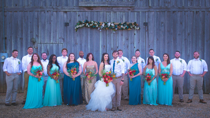 Southern summer wedding  by L&A Event Designs - 033