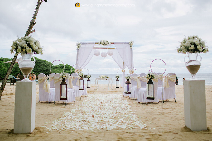 ILZE & MARTINS Wedding by Courtyard by Marriott Bali Nusa Dua - 017