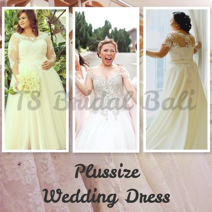 PLUS SIZE WEDDING DRESS by TS BRIDAL BALI - 001