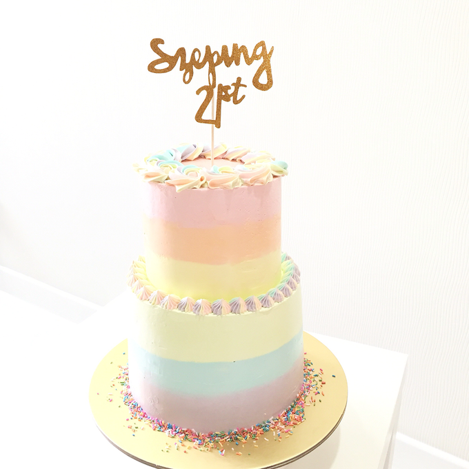 Tiered Cakes  by The Rosette Co - 002