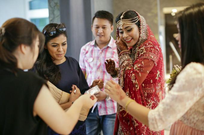 Bee Meera's Wedding by YRegina Makeup - 008