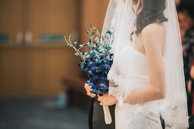Blue Orchids by Liz Florals - 001