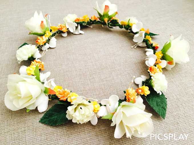 Flower Crown - Import Flowers  by Wedding Needs - 005