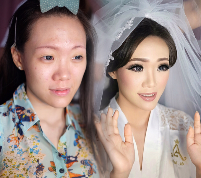 Wedding makeup for Ms Monica - Semarang by Imel Vilentcia Make Up Artist - 002