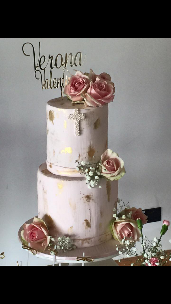 Floral Arrangment Box inspired cake  by Cake4me - 003