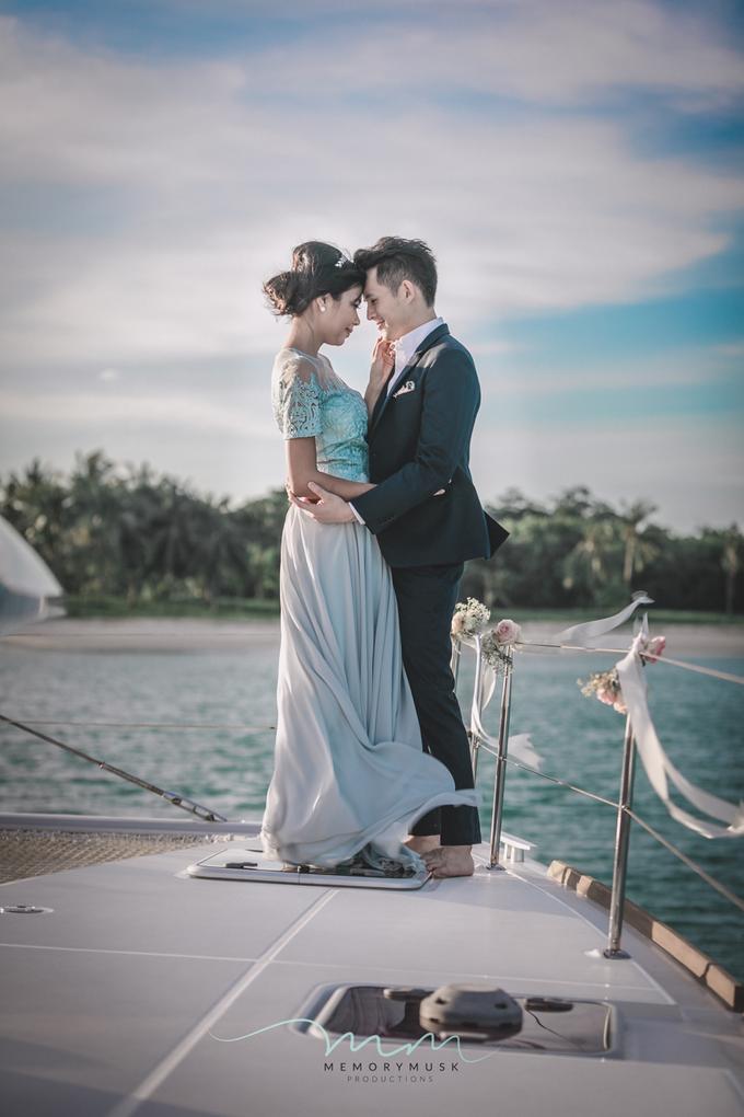 Yacht Pre Wedding by memorymusk - 002