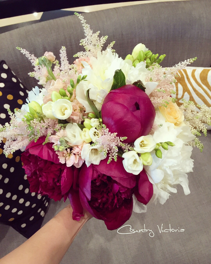 Bridal Bouquets by Country Victoria - 005