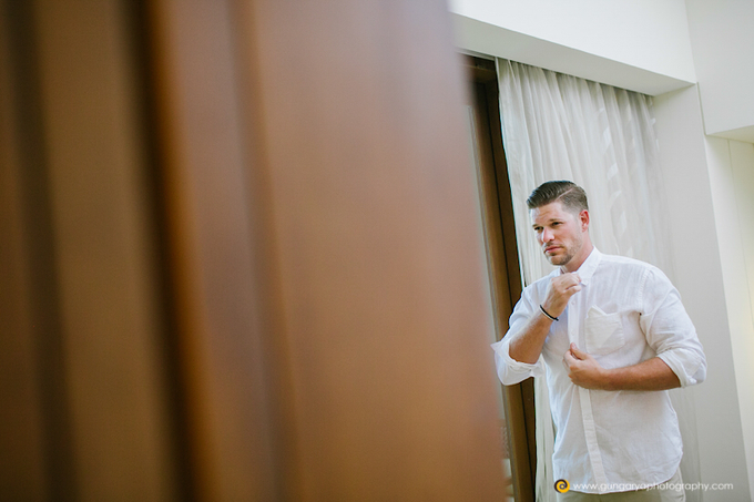 Amanda & Nicholas Wedding by Courtyard by Marriott Bali Nusa Dua - 012