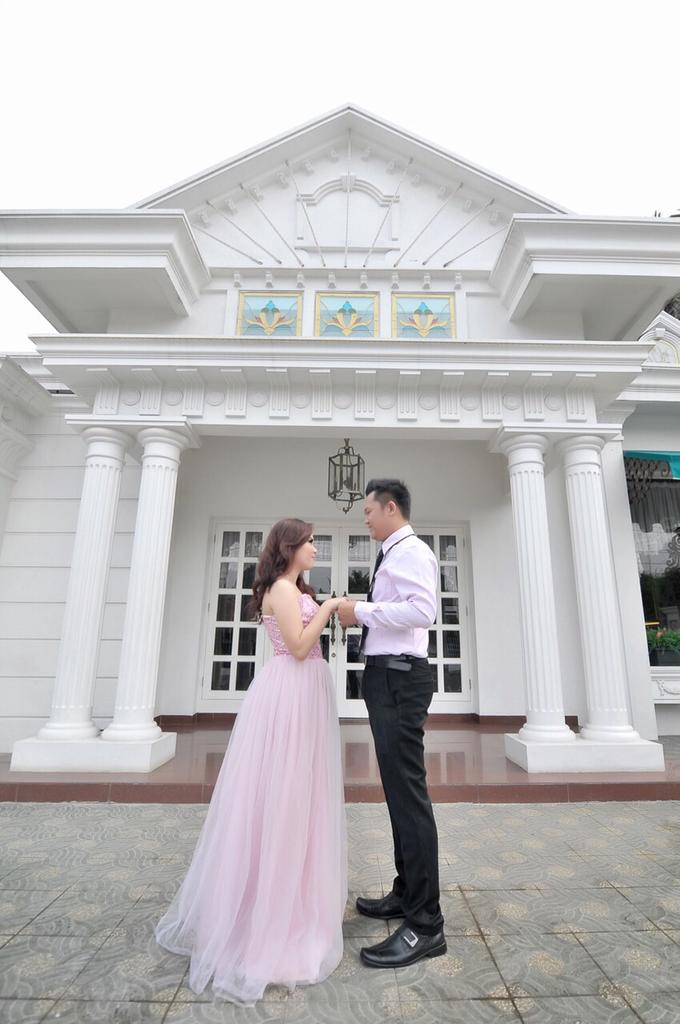 Story of Prewedding : Nova & Alvi by glamour photography - 001