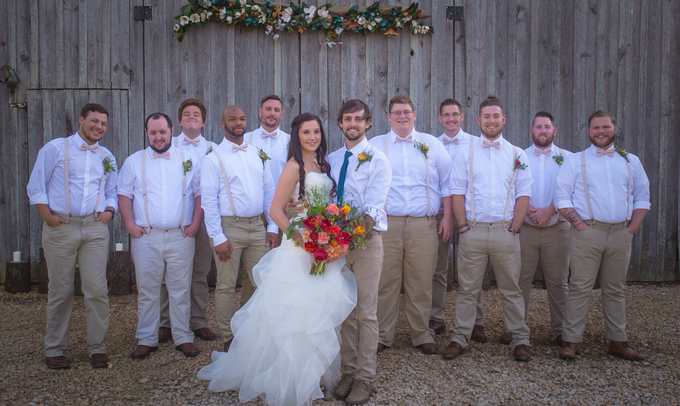 Southern summer wedding  by L&A Event Designs - 035