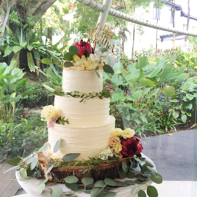 Tiered Cakes  by The Rosette Co - 001